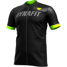 Dynafit Ride Full-Zip Kurzarmshirt Herren black out